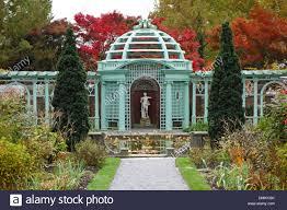 Westbury Botanical Gardens Westbury Gardens House On Island Ny Stock Photo 64356675