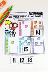 kindergarten math place value