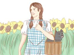 wizard oz dorothy costume how to dress up as dorothy in the wizard of oz 9 steps