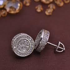 back earring for men jewelry earrings brass lse846 12 1 12 1mm