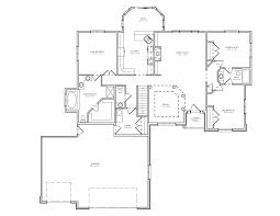 Floor Plans With Basement Plan 3 Bedroom Ranch House Plan With Basement The House Plan
