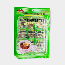 flower food packets assorted flavors beverly healthy flower tea 20g x 9 packets