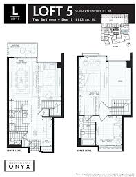 onyx condo 223 webb dr mississauga squareonelife 223 webb dr onyx condo floorplan loft 5