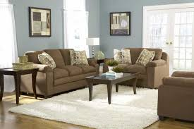 Brown And Blue Home Decor Blue Living Room Brown Sofa Small Home Decoration Ideas Cool In