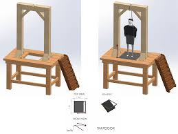 Ways To Hang Pictures How To Build A Gallows 13 Steps With Pictures Wikihow