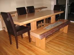 Dining Room Sets With Bench Beautiful Dining Room Table With Bench Seat Pictures Home Design
