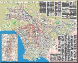 los angeles map pdf séjours d anglais aux usa pasadena ca los angeles californie