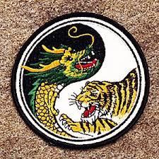 amazon com tiger yin yang patch 4 dia 10 pack