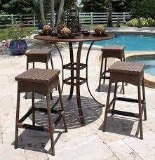 Patio Bar Table Garden Bar Table And Stools Home Furnishings