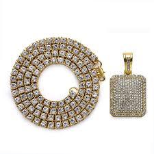 aliexpress buy nyuk gold rings bling gem aliexpress buy nyuk 1 row rhinestones chain necklace