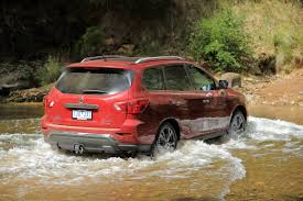 nissan pathfinder off road 2017 nissan pathfinder steps up with more power and improved