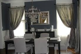 Curtains For Dining Room Windows Awesome Ideas Dining Room Window Curtains Great And Formal