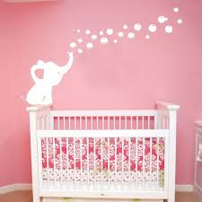 Pink Elephant Nursery Decor Pink Elephant Baby Decor Decorating Ideas Elephant Nursery Decor