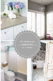 Diy Bathroom Makeovers - diy bathroom makeovers on a budget my uncommon slice of suburbia