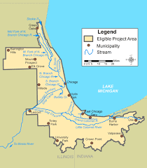 Illinois River Map Chi U2013cal Rivers Fund 2016 Request For Proposals