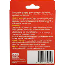 hovex insect control moth trap pantry 2pk woolworths