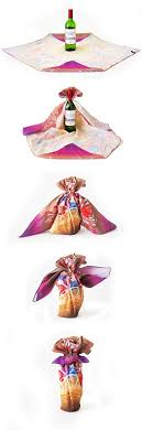mylar gift wrap bottle wrapping furoshiki gift wrapping eco furoshiki