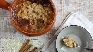 17th century cuisine 3 hours cooked rice pudding from the 17th century