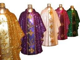 center sacred vestments chasuble ornaments