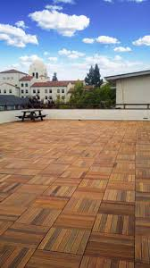 need flooring options for roof top deck