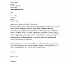 cover letter for resume for medical assistant medical assistant