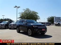 New 2018 Jeep Grand Cherokee Overland Sport Utility In Austin