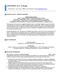 Sample Resume For Graphic Artist Top Arts Resume Templates U0026 Samples