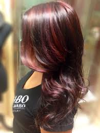 b red series 2 toned red highlights from affinage salon