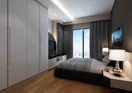 Hdb Bedroom Design With Walk In Wardrobe Master Bedroom Design In Singapore Decorin
