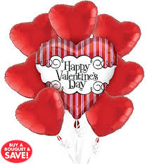 valentines day baloons s day balloons heart balloon bouquets party city