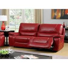 red leather sectional sofa recliner
