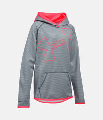girls u0027 ua armour fleece jumbo logo hoodie under armour us