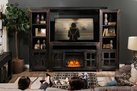 led fireplace insert mathis brothers
