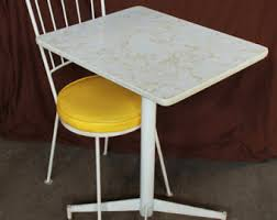 Single Bistro Chair Yellow Bistro Chairs Etsy