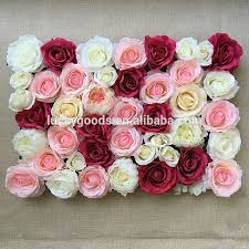 Artificial Flowers In Vase Wholesale Wholesale Wedding Pastic Artificial Flower Arrangements In Vase Or