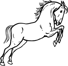 cartoon drawings horses cliparts co