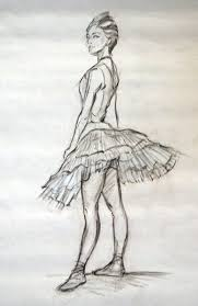 drawn ballet degas pencil and in color drawn ballet degas