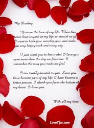 samples of love letters to boyfriend samples of love letters to