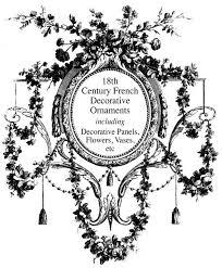 18th century decorative ornaments potterton books