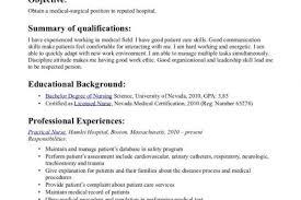 medical surgical rn resume 99 best nursing resume tips images on