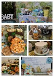 winnie the pooh baby shower vintage winnie the pooh baby shower using backdrops to create the
