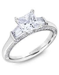 Princess Cut Wedding Ring by Princess Cut Engagement Rings