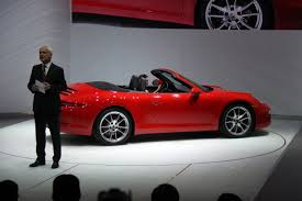 red porsche convertible porsche u0027s new 911 looks wired