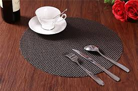 PVC Insulation Dining Room Placemat Dining Room Placemats For - Dining room table placemats