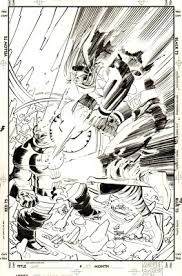 awesome comic sketches and illustrations john romita jr ww