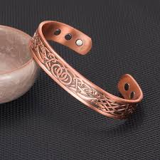copper bracelet mens images Vinterly pure copper bracelet mens vintage health energy magnetic jpg
