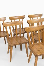 mid century dining chairs by carl malmsten set of 6 for sale at