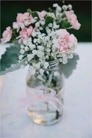 Mason Jar Floral Centerpieces Cheap Wedding Ideas Tips For Getting Married Jars Wedding And