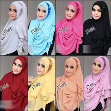 minggu fesyen musim bunga dan panas 2013 milan dirasmikan hijab jilbab moon pastan elevenia