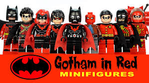 batman of the family lego batman family gotham in dc heroes moc collection w